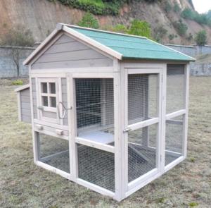 Hühnerhaus - Pickerparadies mit Eierbox und Freilauf